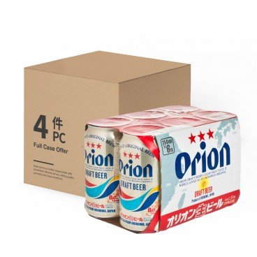 ORION Draft Beer 350MLX6X4