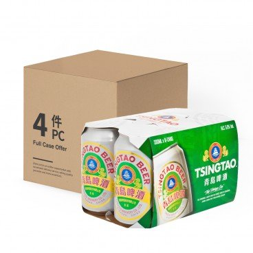 TSING TAO - Can Beer - 330MLX6X4