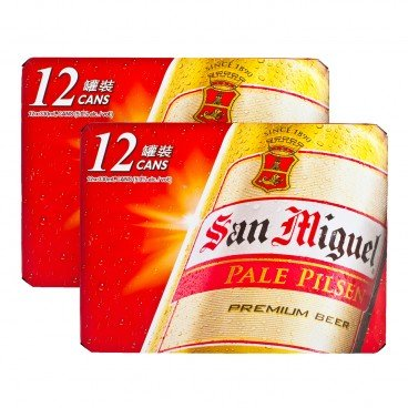 SAN MIGUEL - Beer Can full Case - 330MLX12X2