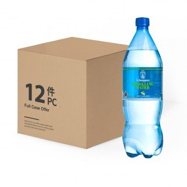 SCHWEPPES Lime Sparkling Water case Offer 1.25LX12