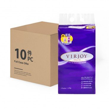 VIRJOY Deluxe Interfold Facial full Case 5'SX10