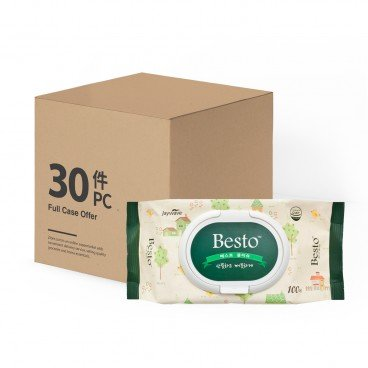 SANDOKKAEBI - Besto Wet Wipes case Offer - 100'SX30