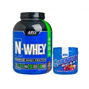ADVANCED NUTRACEUTICAL SCIENCES Set whey Protein branched chain Amino Acid recovery Drink 2.27KG+375G