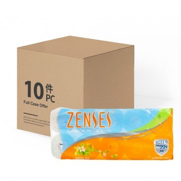 ZENSES - Roll Tissue white Tea full Case - 10'SX10