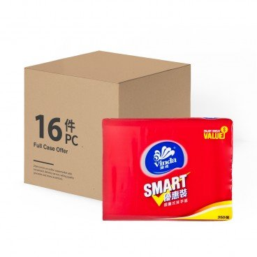 VINDA Smart M fold Paper Towel full Case 250'SX16