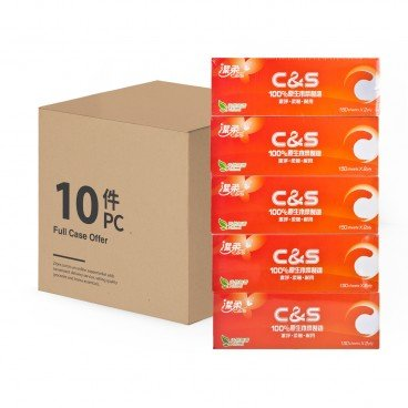 C&S - Ultra Box Tissue full Case - 5'SX10