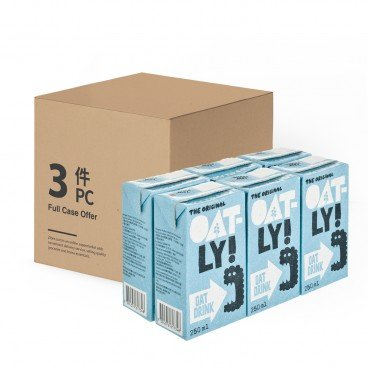 OATLY - Oat Drink enriched case Offer - 250MLX6X3