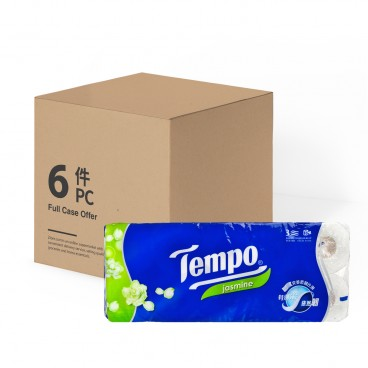 TEMPO得寶 - Bathroom Tissue 3 Ply jasmine full Case - 10'SX6