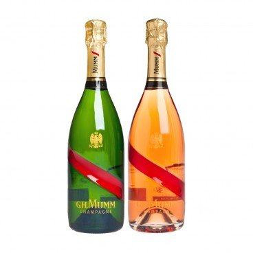 MUMM Grand Cordon Nv Champagne Rose SET