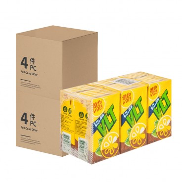 VITA Lemon Tea low Sugar 2 Cases 250MLX6X4X2