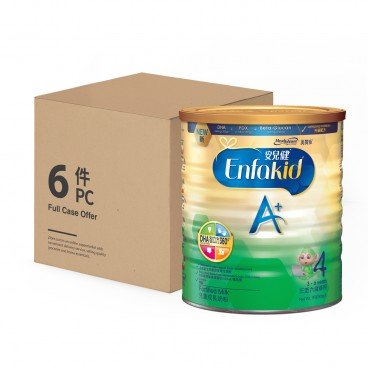 MEADJOHNSON - Enfakid Milk Powder A 4 case Offer - 900GX6
