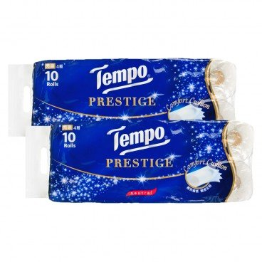TEMPO得寶 Prestige Printed Bathroom Tissue 4 Ply neutral 10'SX2