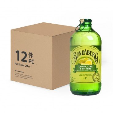 BUNDABERG Lemon Lime Bitter case Offer 375MLX12