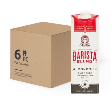 CALIFIA FARMS - Barista Blend Almond Milk - 32OZX6