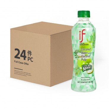 iF - 100 Coconut Water With Coconut Pulp - 350MLX24