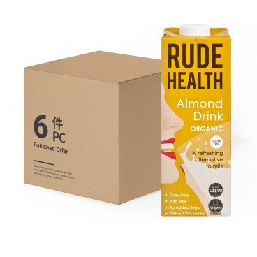 RUDE HEALTH (PARALLEL IMPORT) - Organic Almond Drink - 1LX6