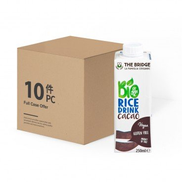 THE BRIDGE - Bio Rice Drink choco - 250MLX10