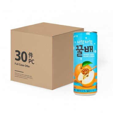 LOTTE - Honey Pear Drink - 240MLX30