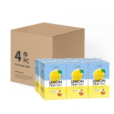 MEKO Lemon Tea full Case 250MLX6X4
