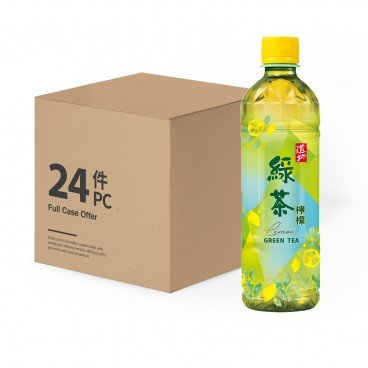 TAO TI - Lemon Green Tea Case - 500MLX24