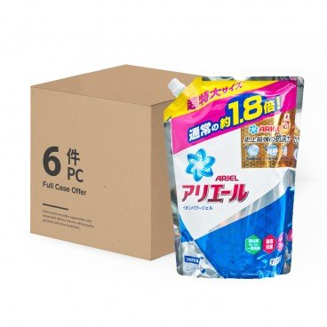 ARIEL - Laundry Liquid Ab refill case Offer - 1.26KGX6