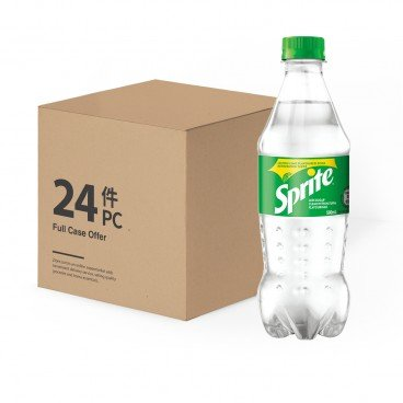 SPRITE - Lemon lime Flavoured Soda Case - 500MLX24