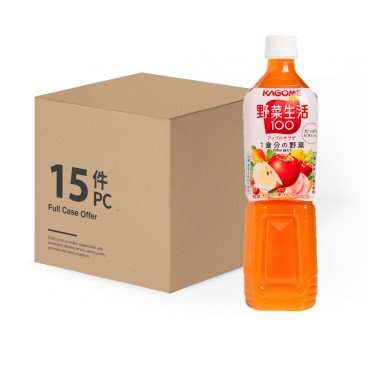 KAGOME Apple Mixed Juice Case 720MLX15