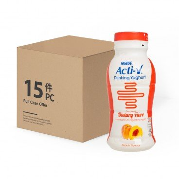 NESTLE - Acti v Drinking Yoghurt Peach Full Case - 200MLX15