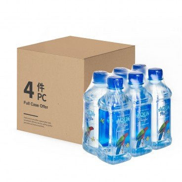 AQUA PACIFIC Natural Mineral Water case 330MLX6X4