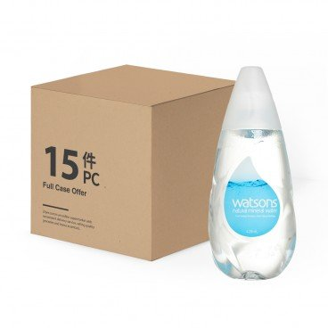 WATSONS - Natural Mineral Water Case - 420MLX15