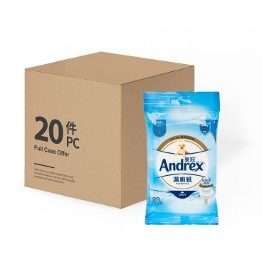 ANDREX - Moist Bath Tissue - 10'SX20