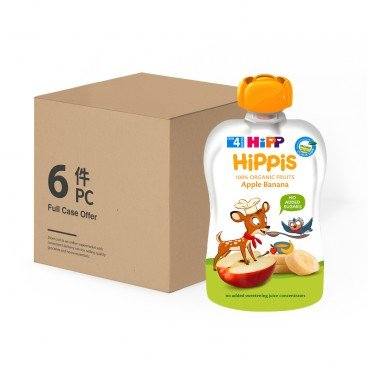 HIPP - Organic Apple Banana Case - 100GX6
