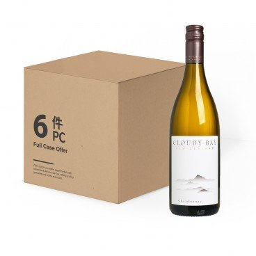CLOUDY BAY - Chardonnay case Offer - 75CLX6