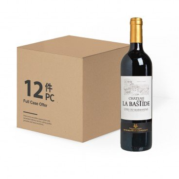 CHATEAU LA BASTIDE - Aoc Cotes Du Marmandais case Offer - 750MLX12