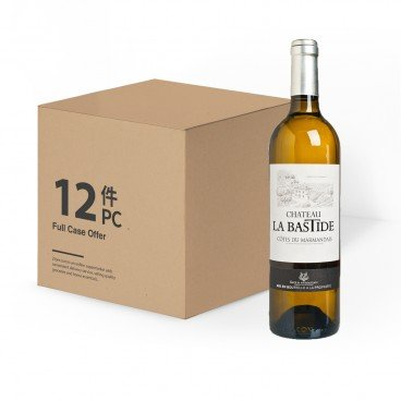 CHATEAU LA BASTIDE - Aoc Cotes Du Marmandais blanc case Offer - 750MLX12