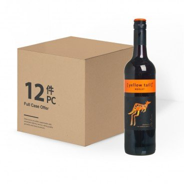 YELLOW TAIL Merlot case Offer 750MLX12