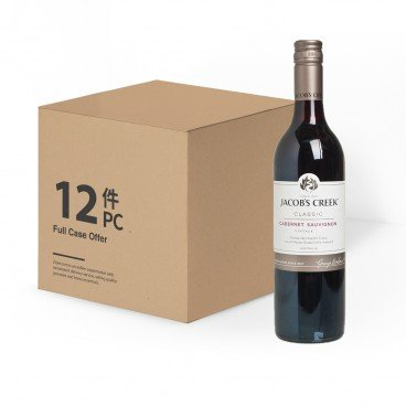 JACOB'S CREEK Cabernet Sauvignon case Offer 750MLX12