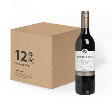 JACOB'S CREEK Shiraz case Offer 750MLX12
