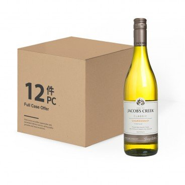 JACOB'S CREEK Chardonnay case Offer 750MLX12