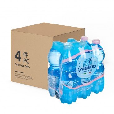 SAN BENEDETTO - Natual Mineral Water Case - 500MLX6X4