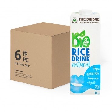 THE BRIDGE - Bio Rice Drink natural Case - 1LX6