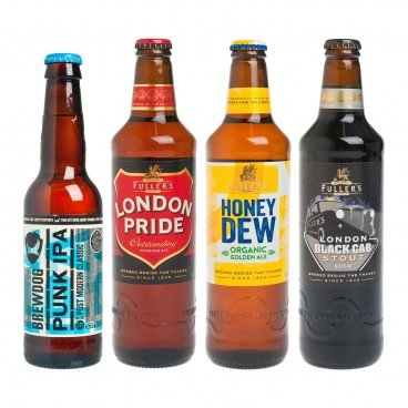 ZTORE SPECIAL - Set selected Craft Beer britain - SET