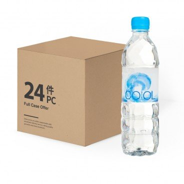 COOL - Mineralized Water Case - 500MLX24
