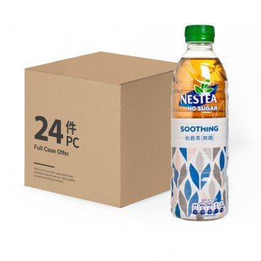 NESTEA - Soothing no Sugar Case - 500MLX24