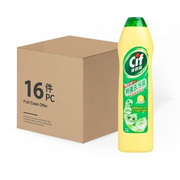 CIF - Cream Cleanser lemon Fresh case Offer - 500MLX16