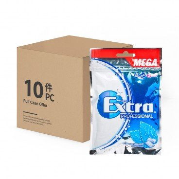 EXTRA - Sugarfree Chewing Gum peppermint Flavour Refill case - 54'SX10