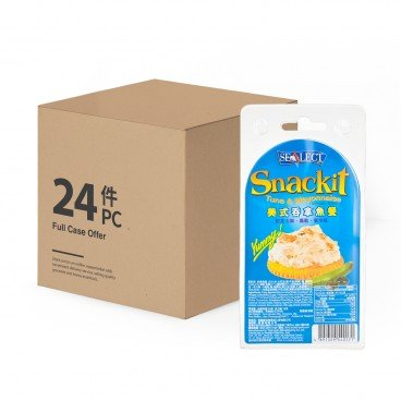 SEALECT - Tuna Snackit American Style case - 85G+18GX24