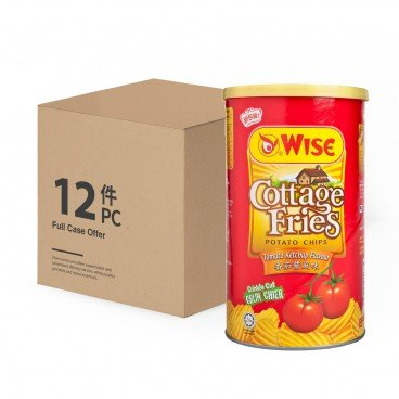 WISE - Tomato Potato Chips case - 100GX12