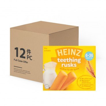 HEINZ - Bi Teething Rusk Case - 100GX12