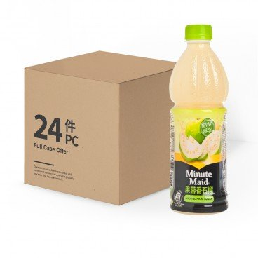 MINUTE MAID - Guava Juice Drink case - 450MLX24